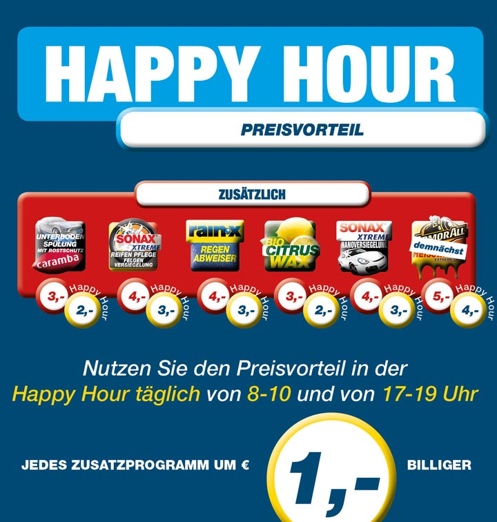 HappyHourPreisvorteil